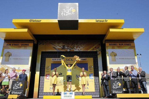 Chris Froome má vítězství na 102. ročníku Tour de France takřka jisté.
