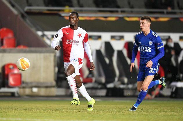 Fotbalisté Slavie bojují v Evropské Lize v Edenu s Leicesterem City.