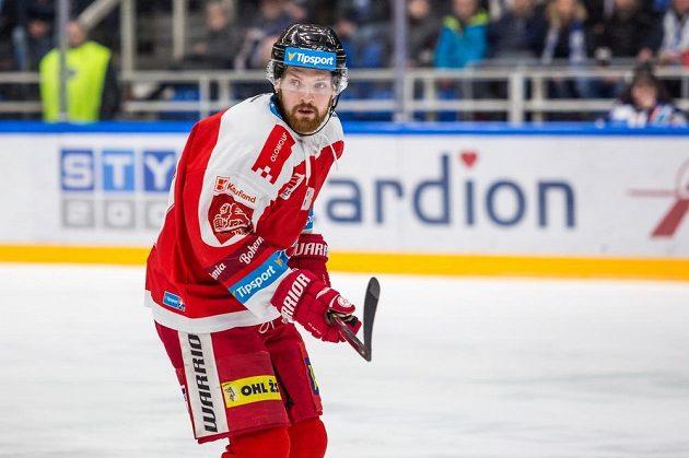 Olomoucký hokejista Pavel Musil.
