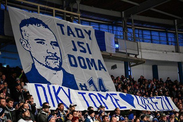 Fanoušci Kladna uvítali Tomáše Plekance.