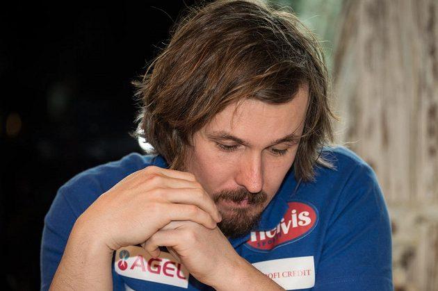 Lyžař Ondřej Bank oznámil na pondělní tiskové konferenci ukončení kariéry.