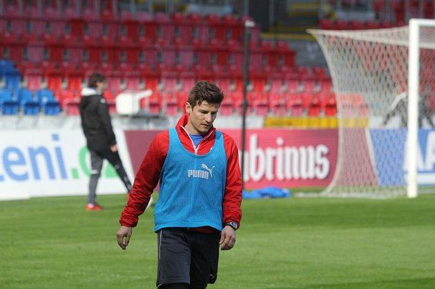 Václav Pilař po zranění začal s tréninkem.
