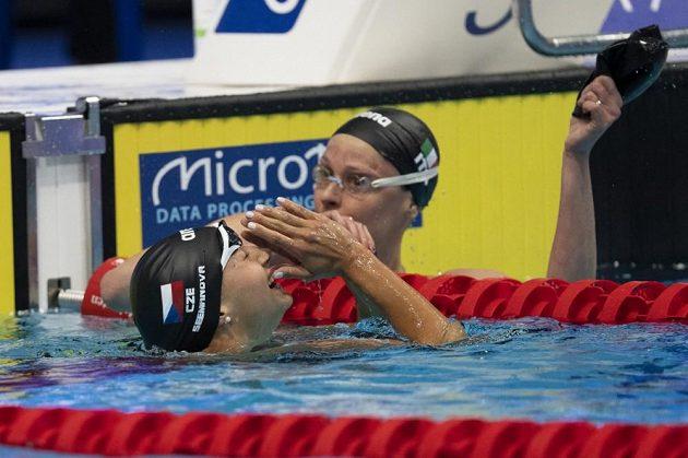 Mistryně Evropy v plavání - Barbora Seemanová.