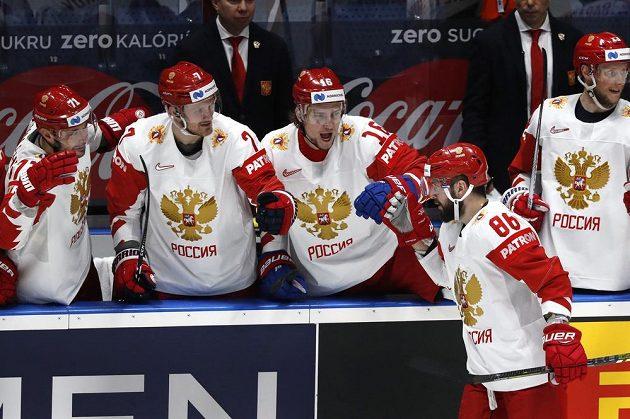 Favorit ve druhé třetině skóre proti Lotyšsku otočil