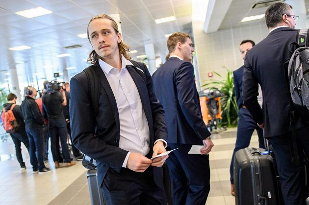 Libor Šulák před odletem na MS do Dánska.