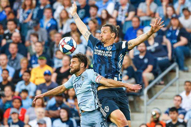 Hvězda LA Galaxy, švédský kanonýr Zlatan Ibrahimovic, pobírá nejvyšší plat v MLS.