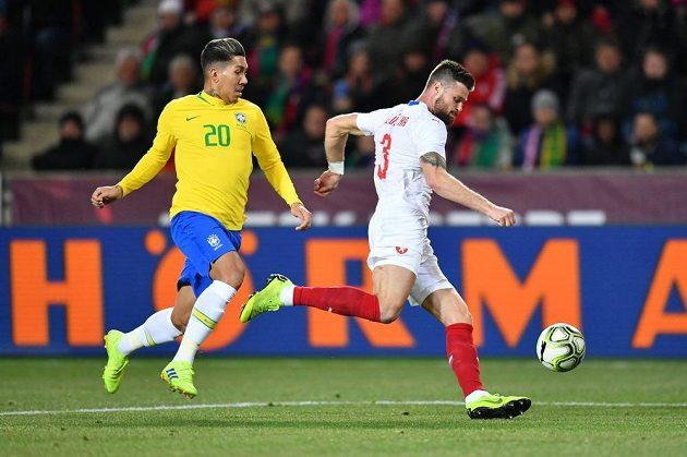Čeští fotbalisté byli v prvním poločase lepším týmem