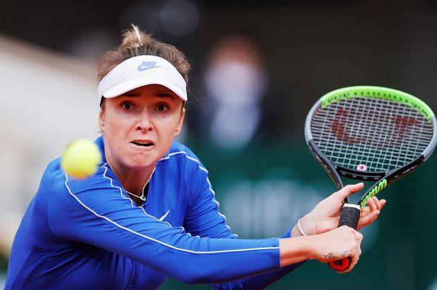 Argentinská tenistka Nadia Podoroská porazila na Roland Garros 6:2, 6:4 třetí nasazenou Elinu Svitolinovou (na snímku).