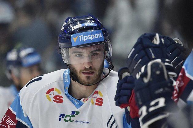 Autor prvního gólu Tomáš Filippi z Liberce.