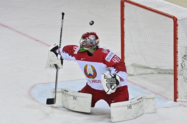 Brankář BěloruskaAlexej Kolosov.