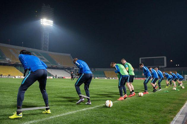 Fotbalisté Sparty Praha se chystajíé na odvetu s Krasnodarem.