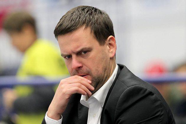 Trenér hokejistů Karlových Varů Karel Mlejnek.
