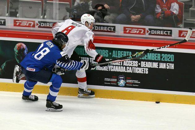 Zleva Joonas Oden z Finska, Janis Moser ze Švýcarska.