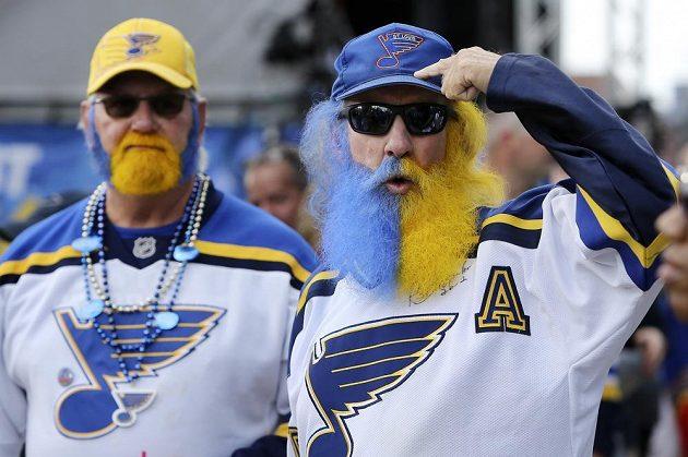 Fanoušci St. Louis Blues věřili, že jejich tým bude slavit Stanley Cup.