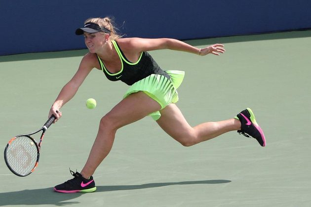 Ukrajinka Elina Svitolinová na českou tenistku nestačila.