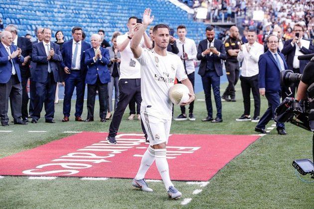 Eden Hazard se poprvé představil v dresu Realu Madrid
