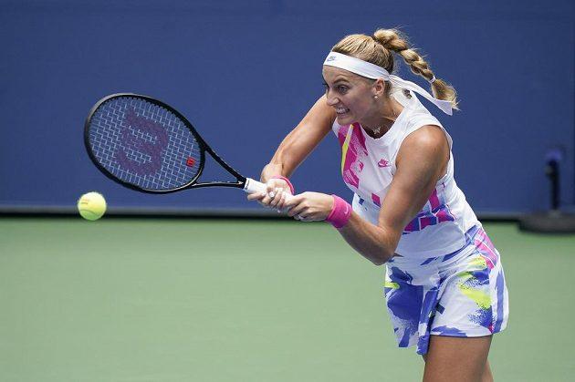 Petra Kvitová ve 2. kole US Open.