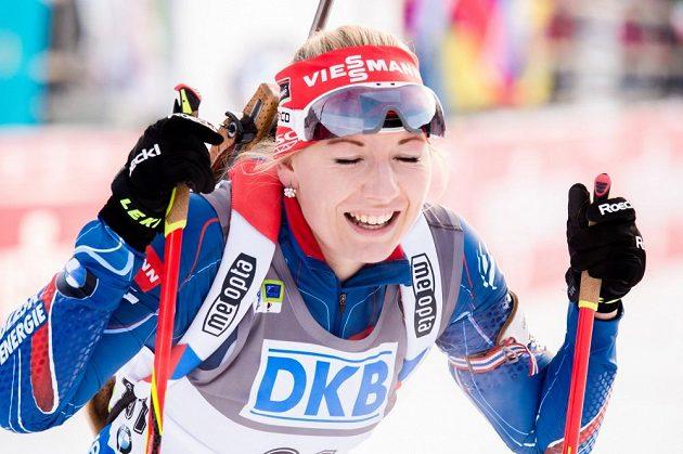 Lucie Charvátová je českou biatlonovou kometou.
