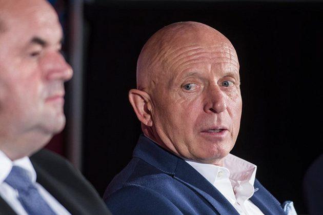 Nový trenér české fotbalové reprezentace Karel Jarolím.