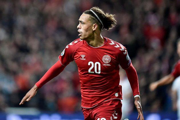 Dánský hrdina je Yussuf Poulsen. Právě on rozhodl o výhře v kvalifikačním duelu o postup na mistrovství Evropy 2020 nad Švýcarskem 1:0.