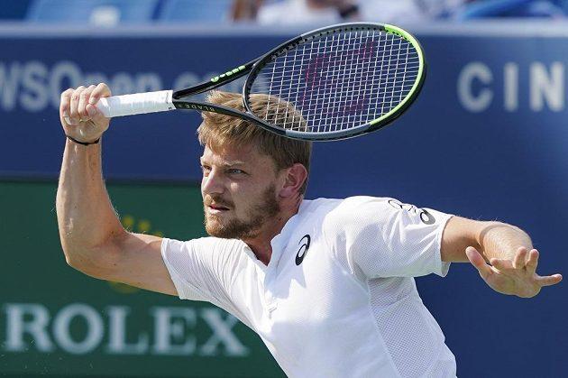 Belgický tenista David Goffin prohrál finále v Cincinatti.
