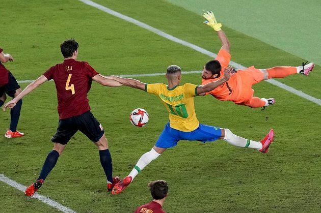 Brazilští fotbalisté obhájili olympijské zlato.