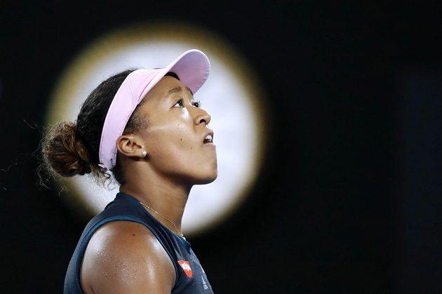 Naomi Ósakaová, finálová soupeřka Petry Kvitové na Australian Open.