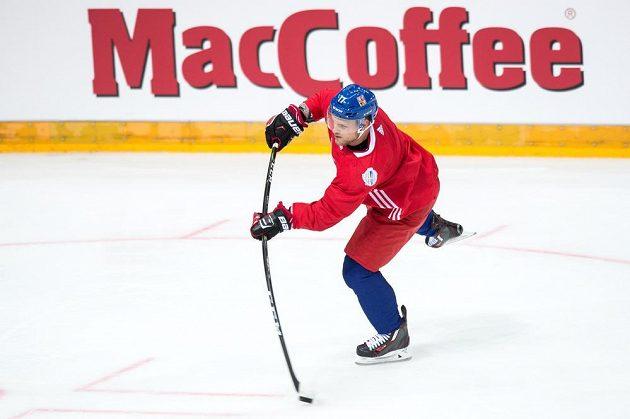Centr národního týmu Vladimír Sobotka.