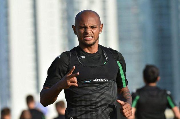 Brazilec Ari z Krasnodaru na soustředění v Emirátech.