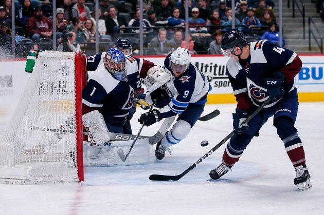 Hokejisté Winnipegu smetli Colorado ve třetí třetině