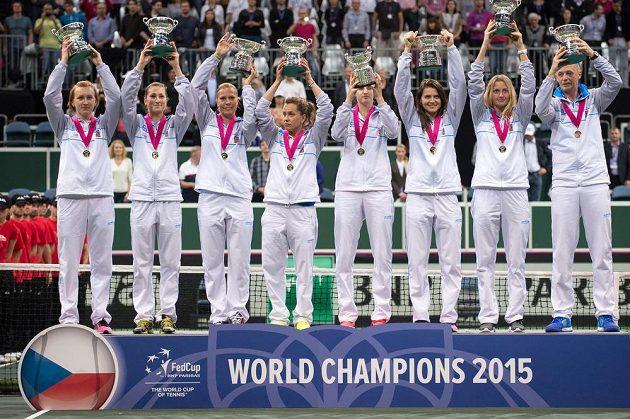 Tenisové královny Fed Cupu pro rok 2015.