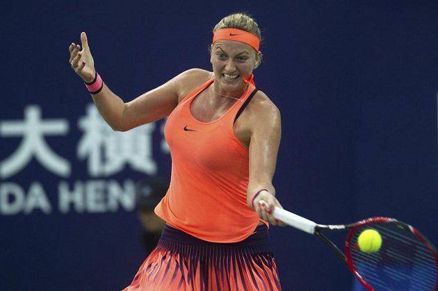Petra Kvitová ve finále Elite Trophy.