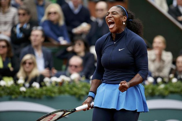 Americká tenistka Serena Williamsová (na snímku) na Špěnalku Garbiňe Muguruzaovou ve finále Roland Garros nestačila.