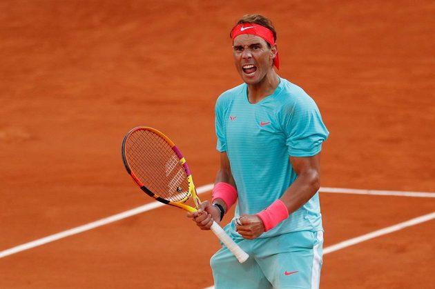 Rafael Nadal v semifinále French Open nezaváhal