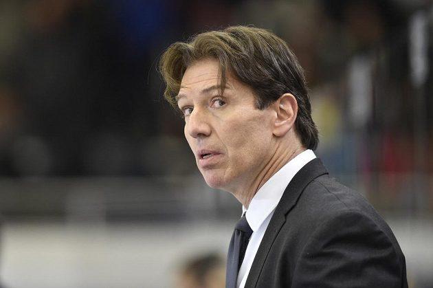 Trenér Sparty Uwe Krupp při utkání v Brně.