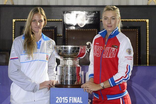 Po nich se na kurtu O2 arény představí Karolína Plíšková a Maria Šarapovová.