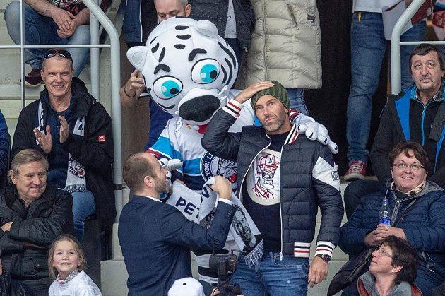 Utkání mezi Libercem a Spartou navštívil i generální manažer české reprezentace Petr Nedvěd.