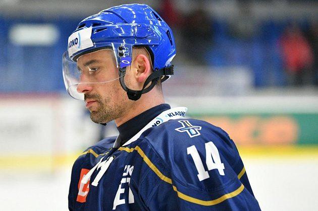 Tomáš Plekanec po návratu z NHL poprvé nastoupil za Kladno proti Litoměřicím.
