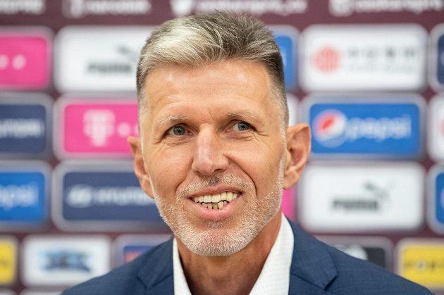 Nový trenér české fotbalové reprezentace Jaroslav Šilhavý.