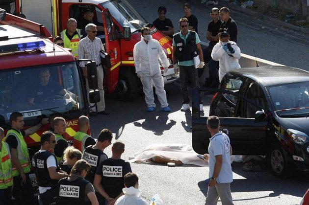 Vražda se stala na předměstí Marseille.