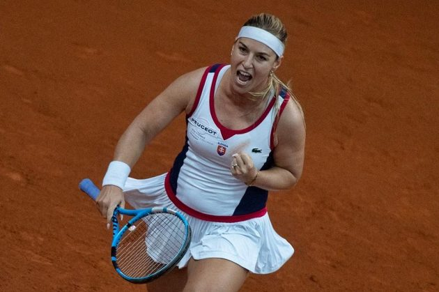 Dominika Cibulková předvedla výborný výkon