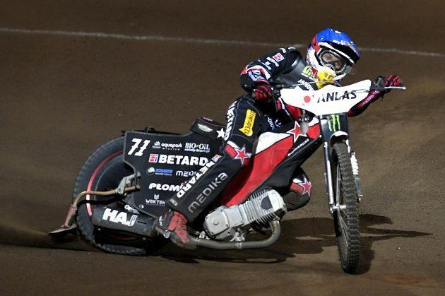 Vítěz prvního závodu GP v Praze Maciej Janowski z Polska.