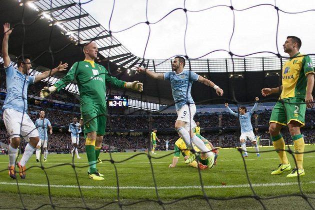 Fotbalisté City zničli Norwich sedmi brankami.