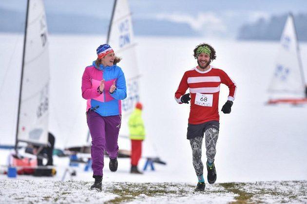 Lipno Ice Marathon - Jak vidno, i v zimě lze běhat kvalitní maratony.
