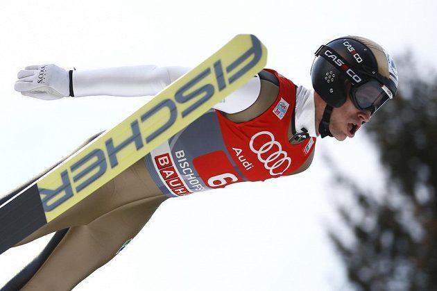 Roman Koudelka během posledního závodu Turné čtyř můstků v Bischofshofenu.