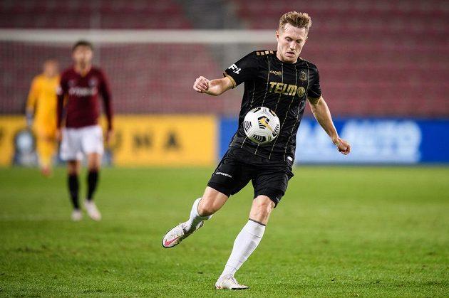 David Štěpánek z Jablonce během utkání Fortuna ligy.
