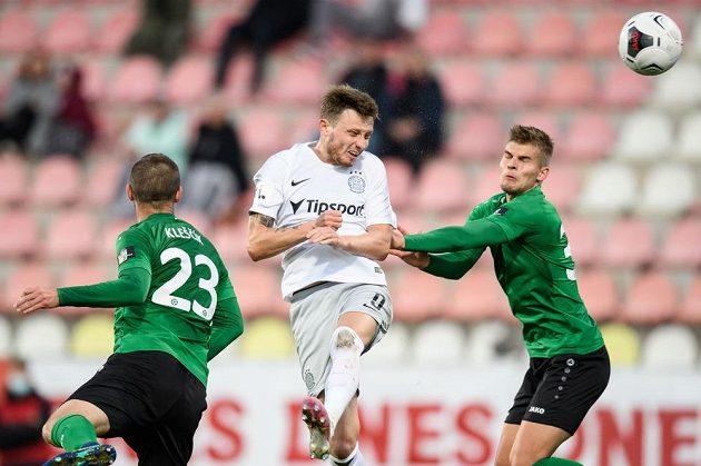 Ladislav Krejčí starší ze Sparty Praha a jeho gólová hlavička na 2:1 v utkání 5. kola Fortuna ligy v Příbrami.