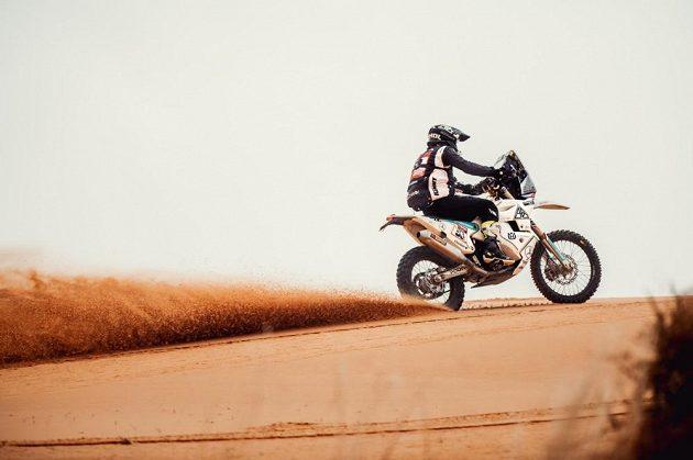Libor Podmol v 7. etapě Rallye Dakar