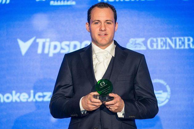 Nejproduktivnější hokejista sezóny Lukáš Pech.