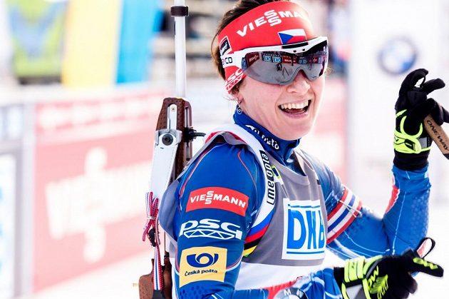 Veronika Vítková konečně zastřílela bezchybně, v Pokljuce to stačilo na čtvrté místo.